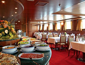 Dining on Amadeus Waterways