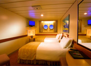 Interior Stateroom with Porthole Window