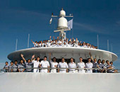 Crew and Staff on a Croisi Europe Cruise