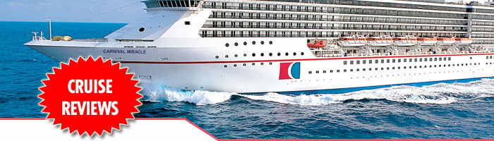 Carnival Miracle Cruise Reviews