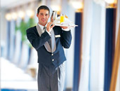 Butler Service on Crystal Cruises