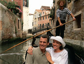 Enjoy a gondola ride in Venice while on a Mediterranean cruise