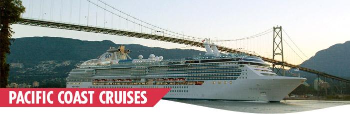 Pacific coast cruises pacific coastal cruise deals us pacific pacific coast cruises sciox Choice Image