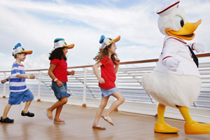 Donald Duck and Friends on Deck
