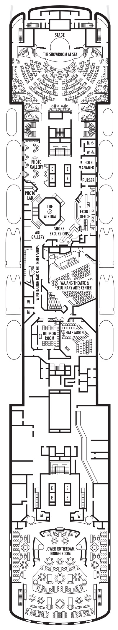 ms Veendam Deck Plans