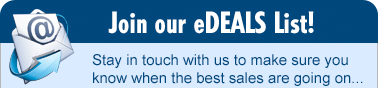 Join our eDeals List!