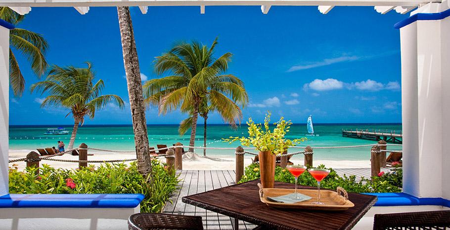Greek Honeymoon Beachfront Walkout Concierge Suite 2