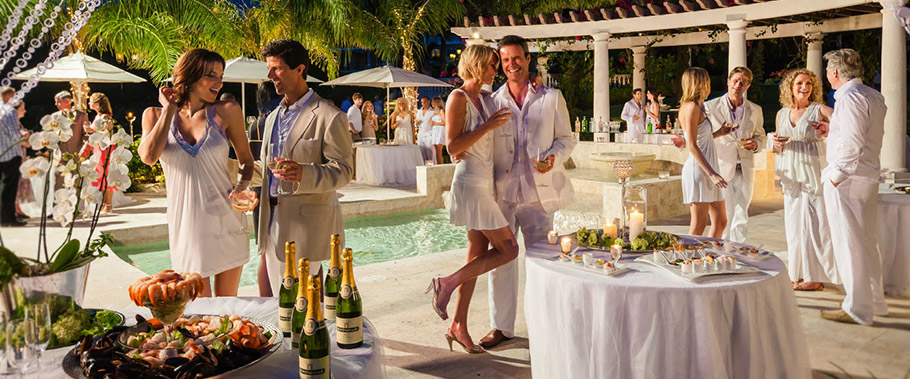 The White Party at Sandals Grande Antigua