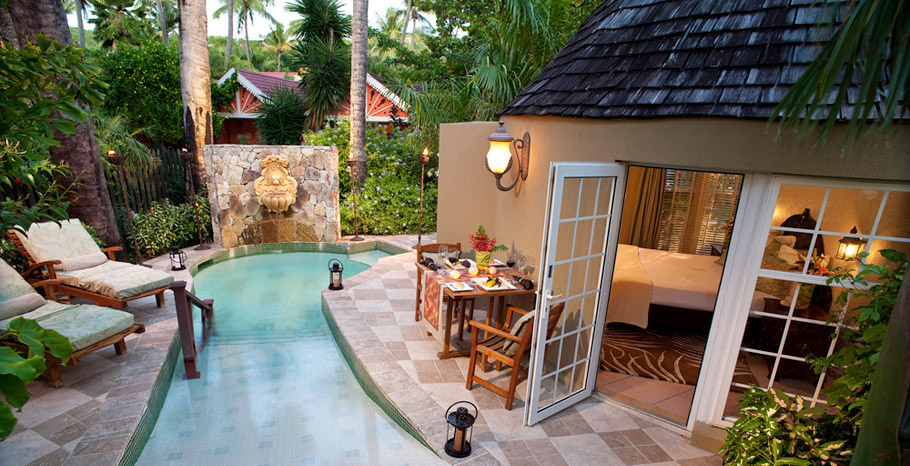 Caribbean Honeymoon Butler Rondoval with Private Pool Sanctuary (RP)