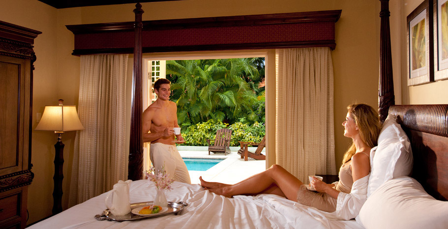 Butler Village Honeymoon Poolside Villa Room (PV)