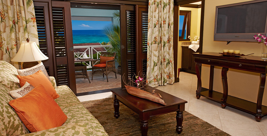 Butler Village Oceanview One Bedroom Poolside Villa Suite (GP)