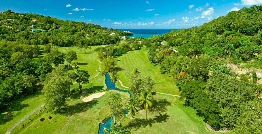 Sandals Golf Club in St. Lucia