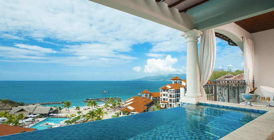 Italian Oceanview PH. 1 Br. Skypool Butler Suite w/Balcony Tranquility Soaking Tub (PSKY)