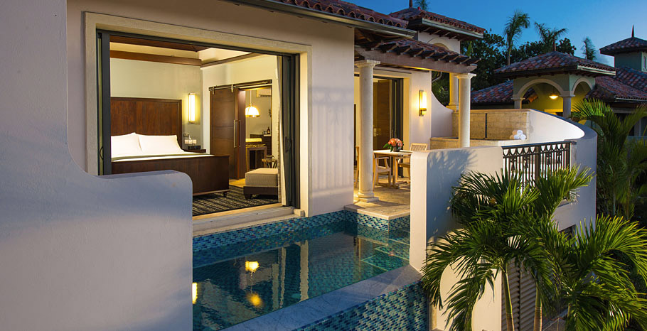 South Seas One Bedroom Butler Suite with Infinity Edge Pool (M1P)