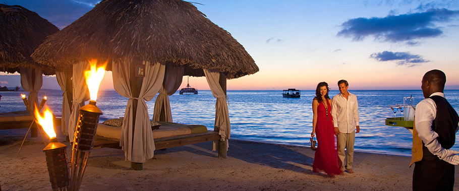 Night Time Romance at Sandals Montego Bay