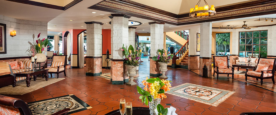 The Lobby at Sandals Negril