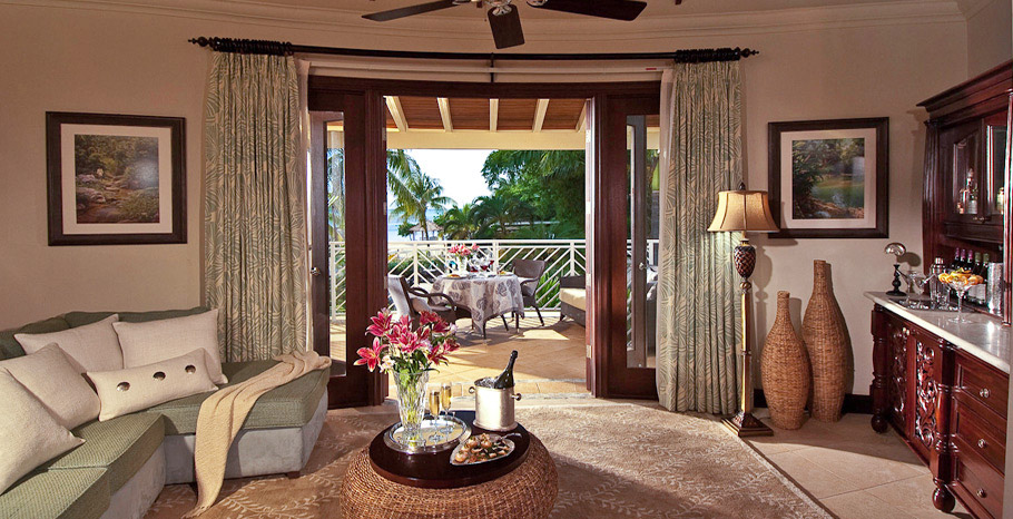 Millionaire Honeymoon Oceanview Penthouse One Bedroom Butler Suite (OP)