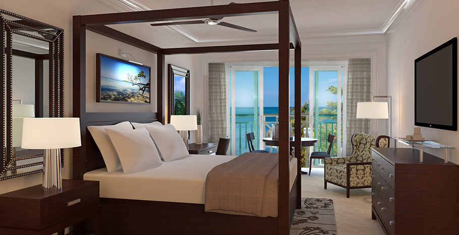 Paradise Honeymoon Beachfront Grande Luxe Club Level Room (HB)