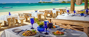 Dining at Sandals Negril