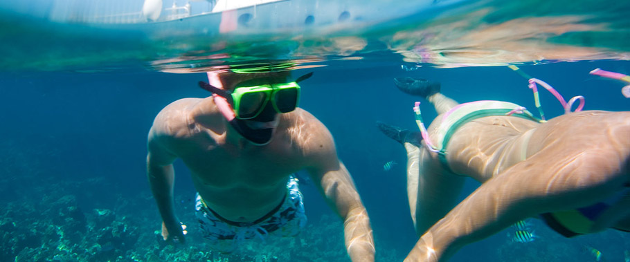 Snorkeling at Sandals Regency La Toc
