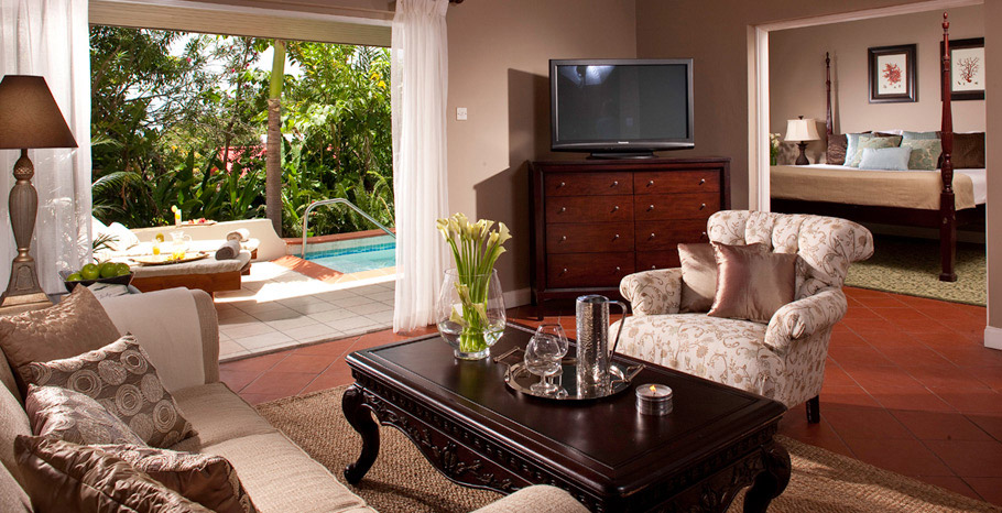 Honeymoon Hideaway One Bedroom Butler Suite with Private Pool (BH)