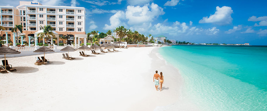 The Beach at Sandals Royal Bahamian