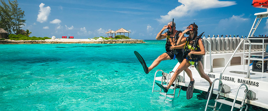 Scuba Diving at Sandals Royal Bahamian
