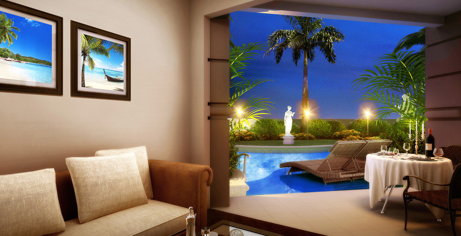 Windsor Honeymoon Hideaway Swim Up Crystal Lagoon Zen Butler Suite (ZSS)