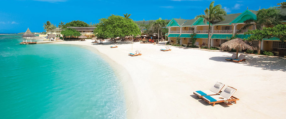 The Beach at Sandals Royal Caribbean