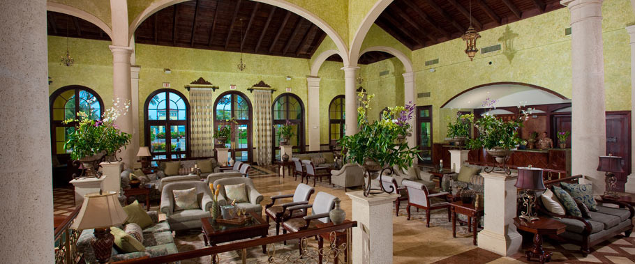 The Lobby at Sandals Whitehouse