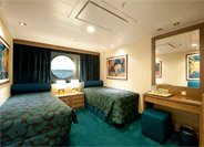 Oceanview Stateroom with Bella Experience