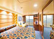 Yacht Club Deluxe Suite with Club Experience