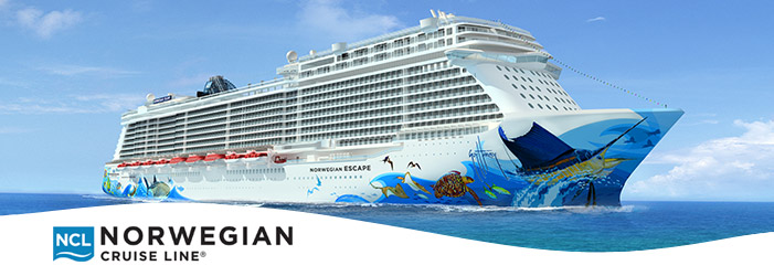 video- Norwegian Escape block floatout