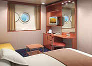 Mid-Ship Oceanview Porthole