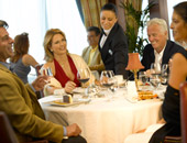 Dining onboard Oceania Cruises