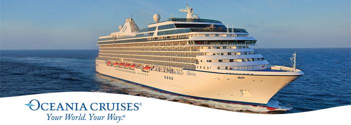 Oceania Marina, Marina Cruise, Oceania Marina Cruises