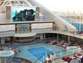 Movies Under the Stars onboard Princess Cruises