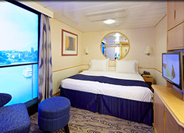 Interior Stateroom with Virtual Balcony