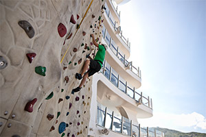 Boardwalk (Rock-Climbing Wall)