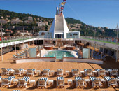 The Pool Deck on Seven Seas Voyager
