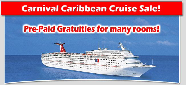 Carnival Cruise Line Caribbean Cruise Sale Discount Carnival Cruise Specials
