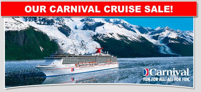 Carnival Alaska Cruise Sale Discount Carnival Cruise