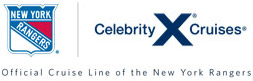 Celebrity Cruise and New York Rangers Logo