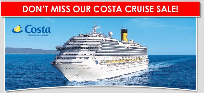 Costa Caribbean Cruise Sale