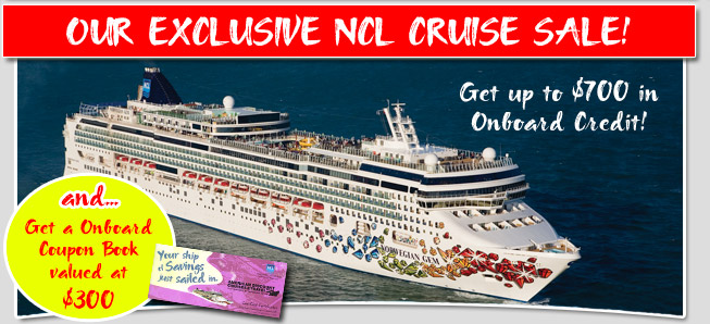 Our Exclusive Ncl Cruise Sale Discount Norwegian Cruise