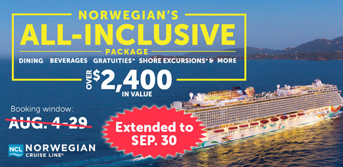 All Inclusive Packages On Norwegian Cruise Line