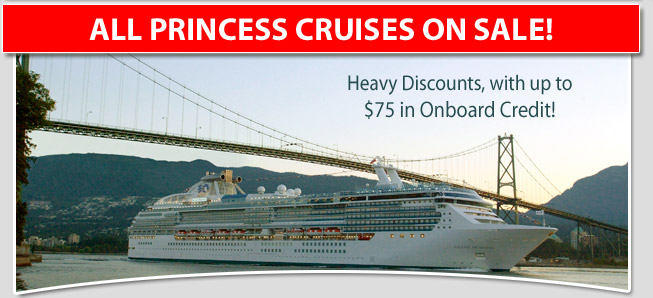 Princess Caribbean Cruise Sale