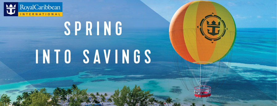 Royal Caribbean Cruise Sale - 60% OFF Your Second Guest & More!
