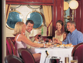 Dining onboard Star Clippers